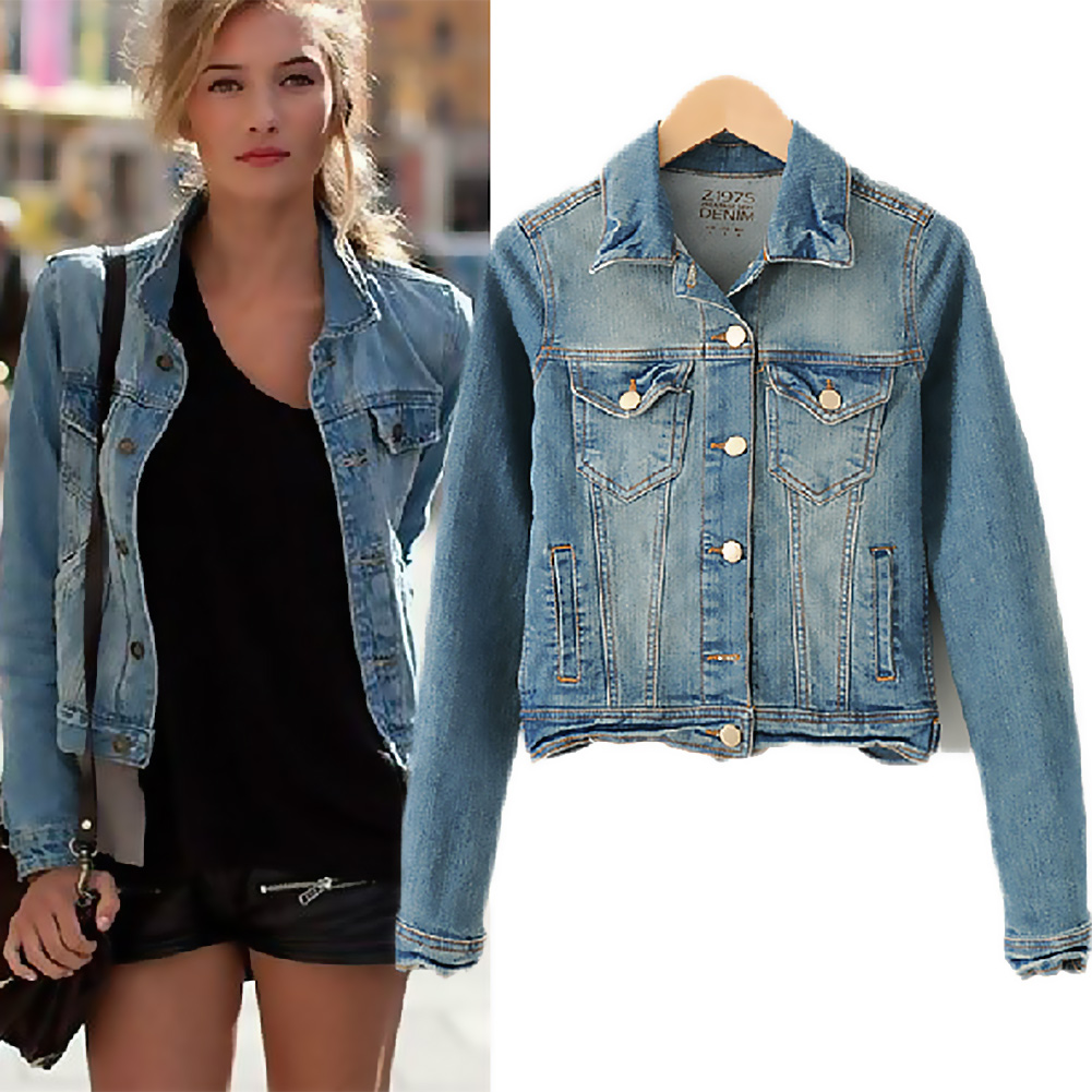 Biker style ripped denim jacket, zipper up. Mens Hipster Zipper Detail Washed Motorcycle Denim Jacket. by Tasatific. $ $ 32 out of 5 stars 5. Product Features classical style long sleeve denim jackets coats with Detachable Hood Dreamskull Womens Stand Collar Moto Stretch Denim Jean Jacket.