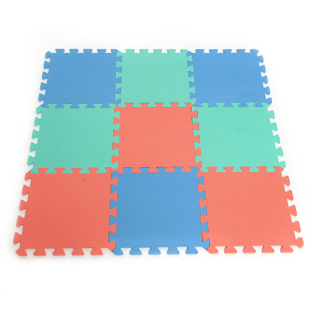 New 9pcs EVA Foam Floor Mat Exercise Gym Kids Playground ...