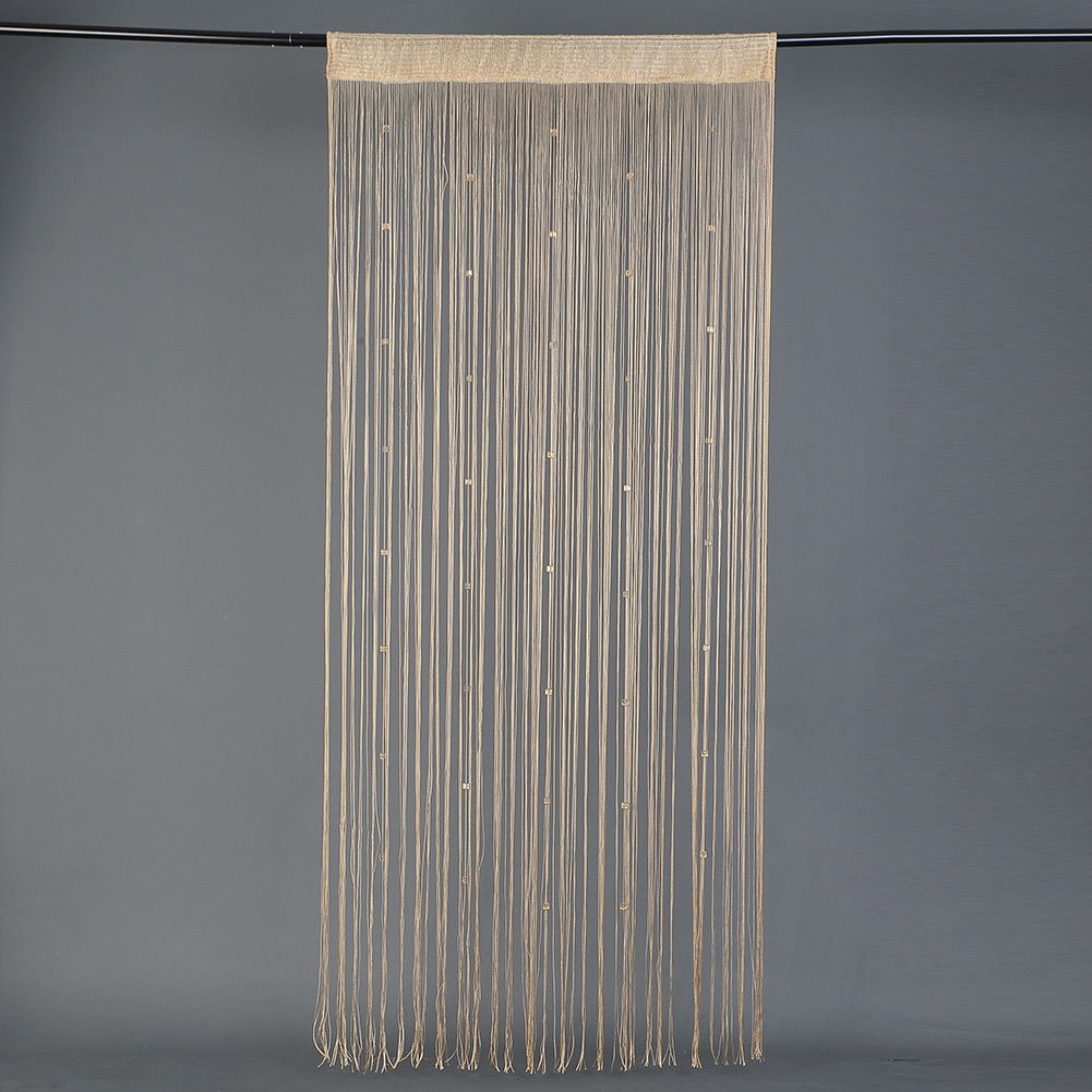 Beaded String Curtain Door Room Divider Tassel Screen