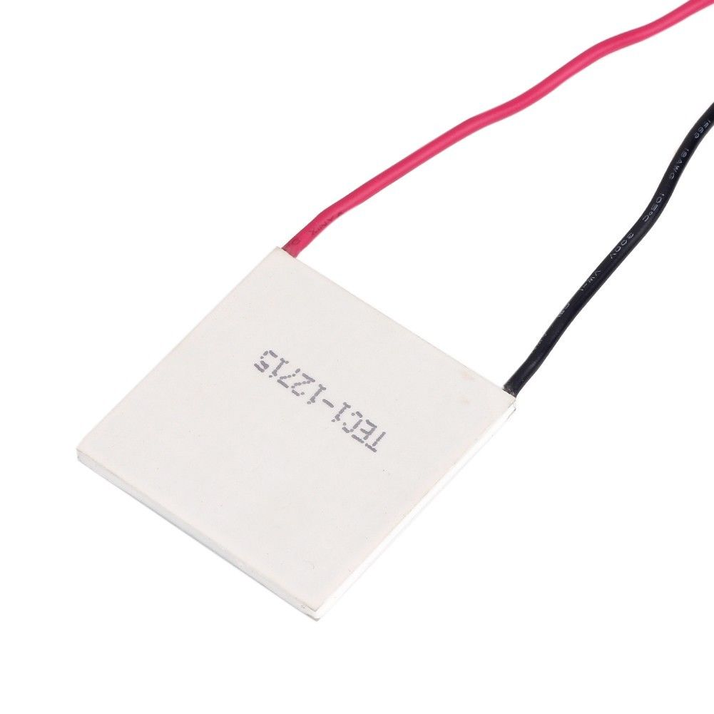 New-TEC1-12715-TEC-Thermoelectric-Heatsink-Cooler-Peltier-12V-40mm-Plate