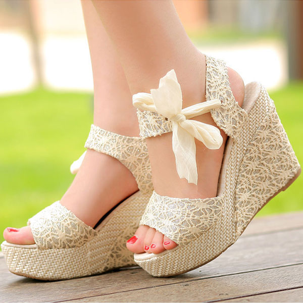 Amazing High Heels Shoes Wedges  Fashionate Trends