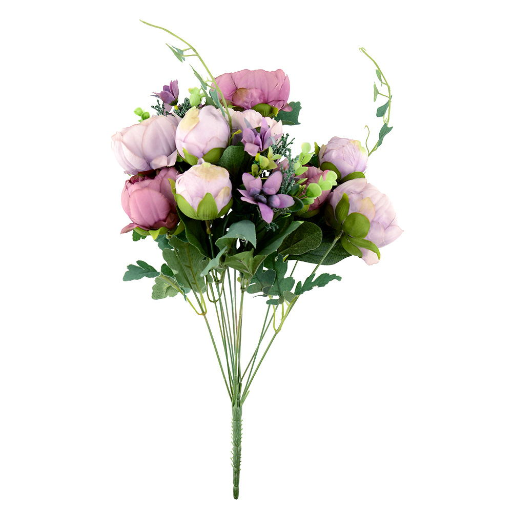 Flowers collection on ebay artificial peony silk flowers bridal hydrangea garden decor flower arrangement dhlflorist Images