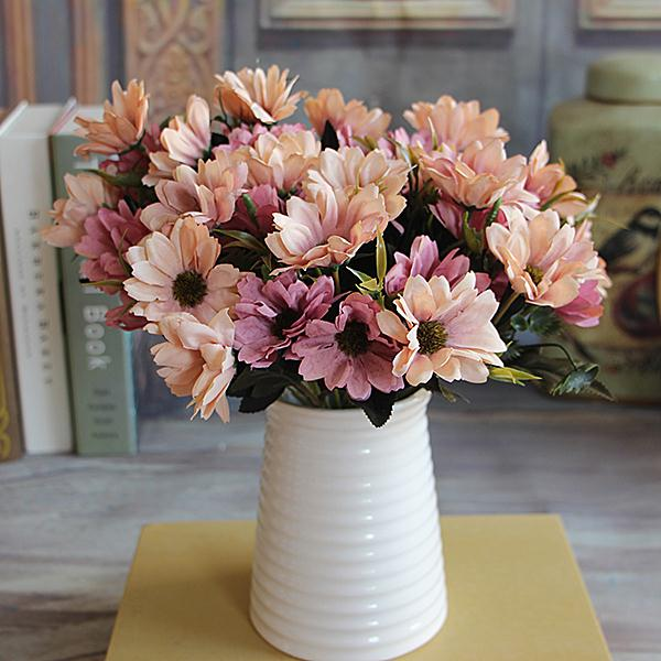 8427-French-Rose-Artificial-Fake-Peony-Flower-Table-Spring-Daisy-Wedding-Decor