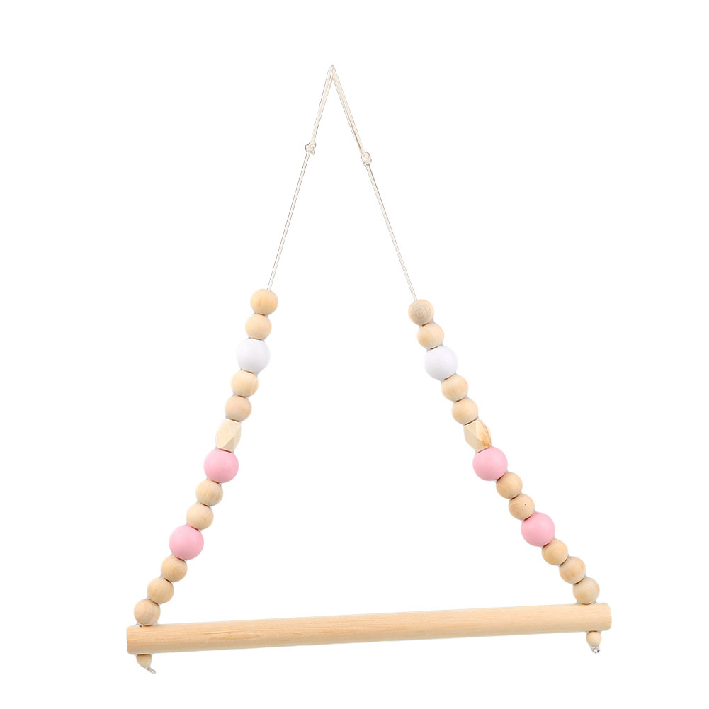D2FF-Nordic-Style-Wooden-Clothes-Rack-Kids-Room-Wall-Hanger-Home-Decor-Wardrobe