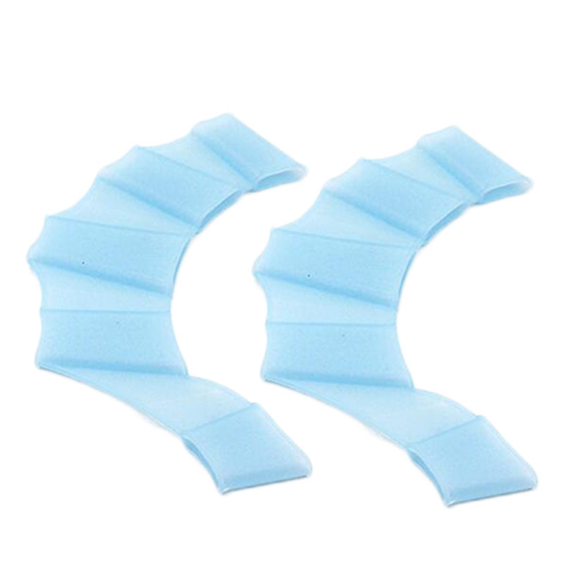 1137-Three-Colors-Fins-Palm-Paddle-Soft-Silicone-Swimming-Fins-Flippers-Hand