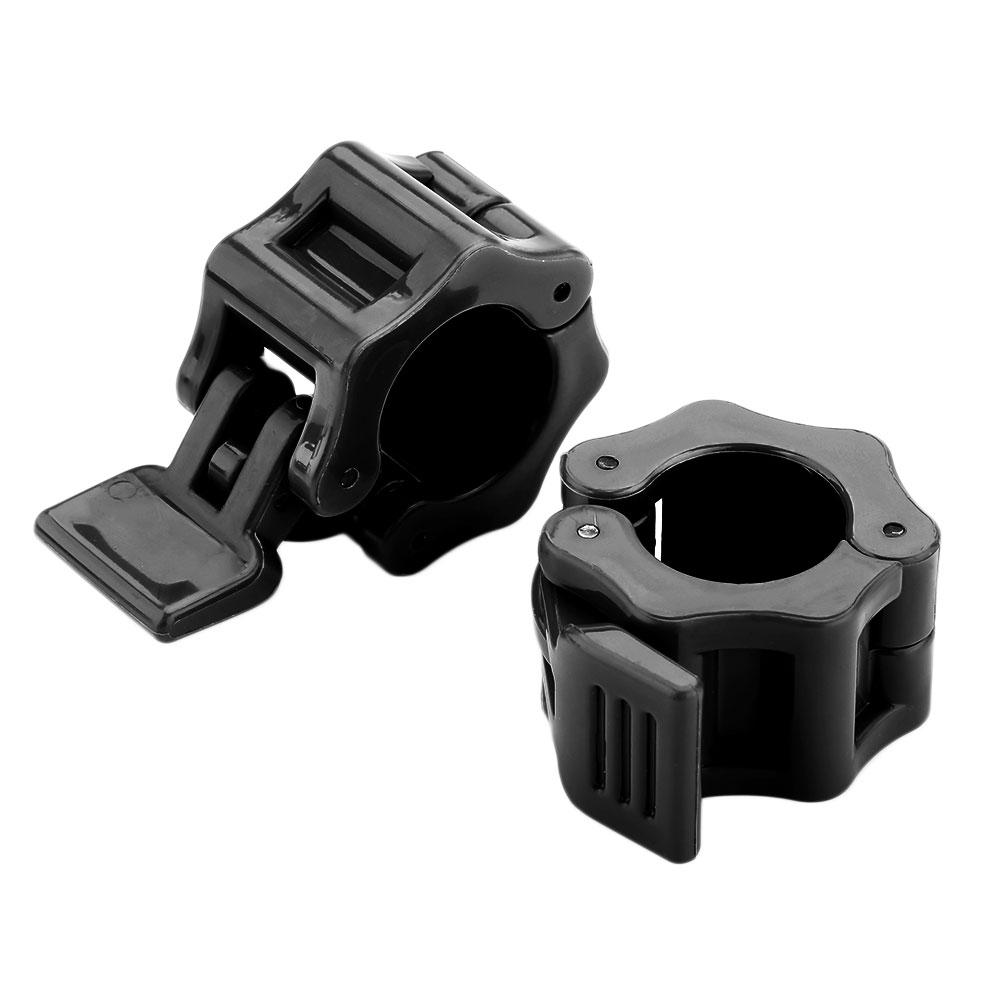 F8FE-2pcs-25mm-Weight-Lifting-Locking-Spring-Collars-Buckle-Durability-Training