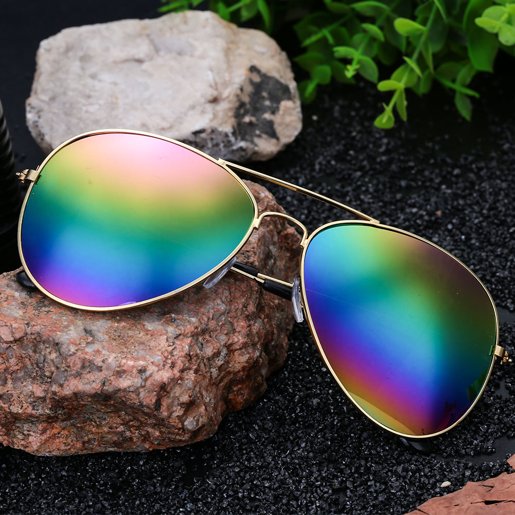 8E07-Unisex-Colorful-Plating-Films-UV400-Glasses-Sunglasses-Frog-Mirror-Decor