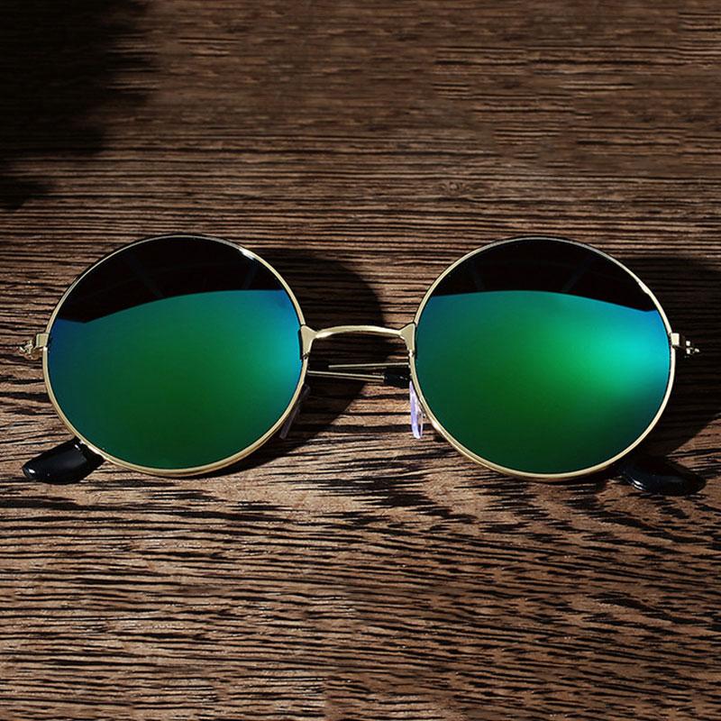 CEEF-Men-Retro-Vintage-Round-Mirrored-Sunglasses-Eyewear-Outdoor-Sports-Glasses