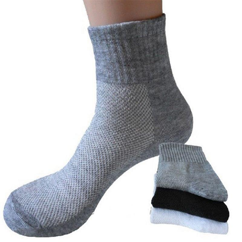 DAB3-Men-039-s-Socks-Soft-Cotton-Comfortable-Breathable-Thermal-Sport-Sock-Ankle