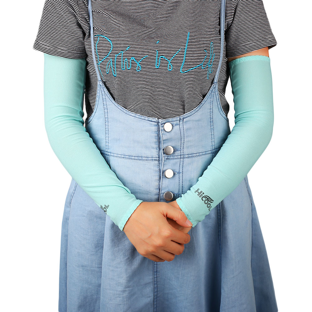 A722-1-Pair-Cooling-Arm-Sleeves-Cover-Anti-UV-Sun-Protection-Cycling-Outdoor