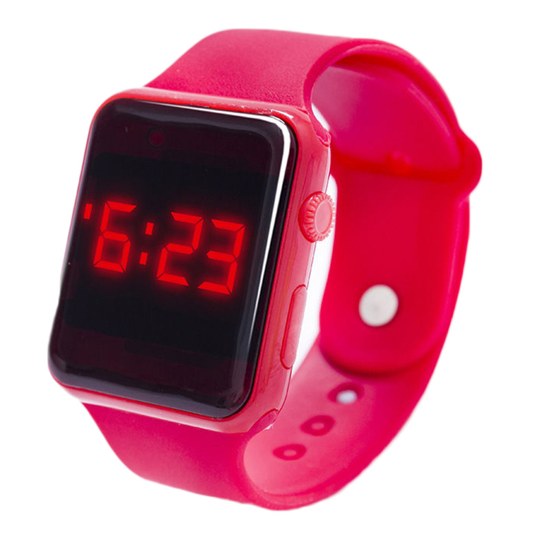 9D97-Electronic-Digital-LED-Silicone-Watch-Wristwatch-Bracelet-For-Children