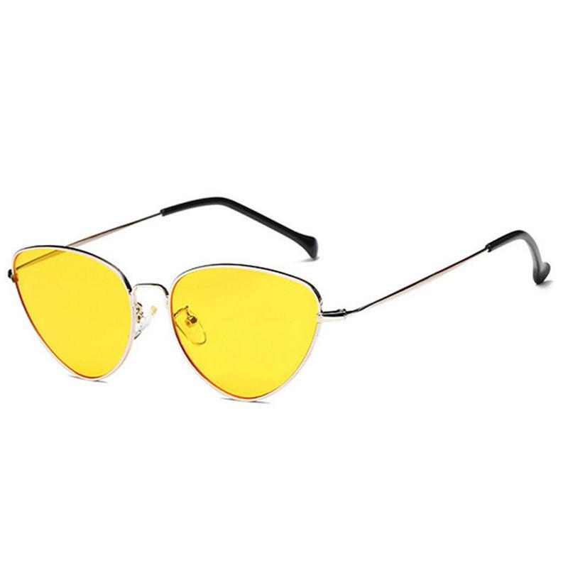 90C6-Lady-Women-Sunglasses-Lens-Oval-Frame-Cat-Eye-Oversized-Fashion-Anti-UV