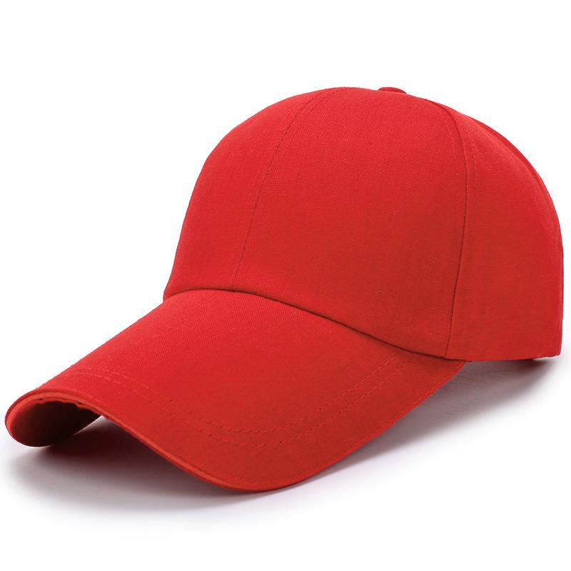 4BC8-Plain-Baseball-Cap-Solid-Blank-Curved-Hat-Peak-Caps-Adjustable-Army-Summer