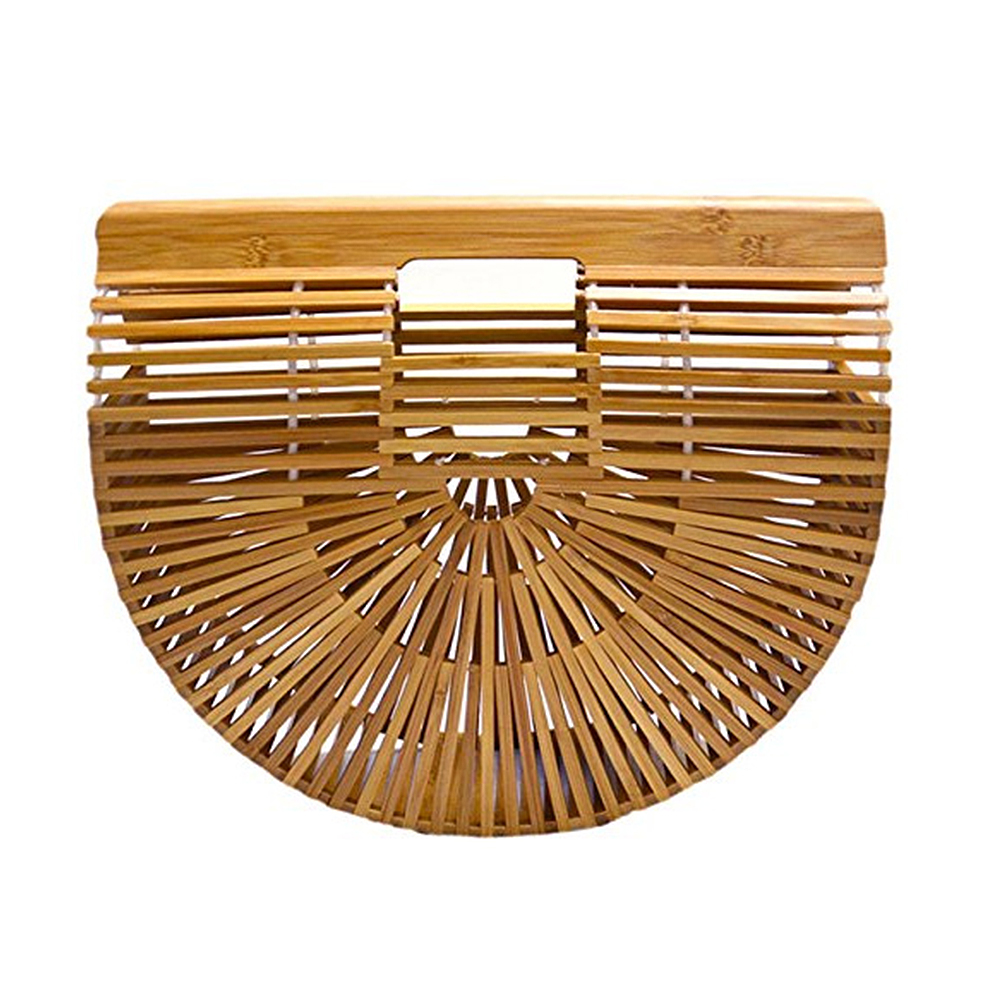 EEDF-Women-039-s-Bamboo-Handbag-Beach-Bag-Lady-Tote-Fashion-Handmade-Bag-S-L