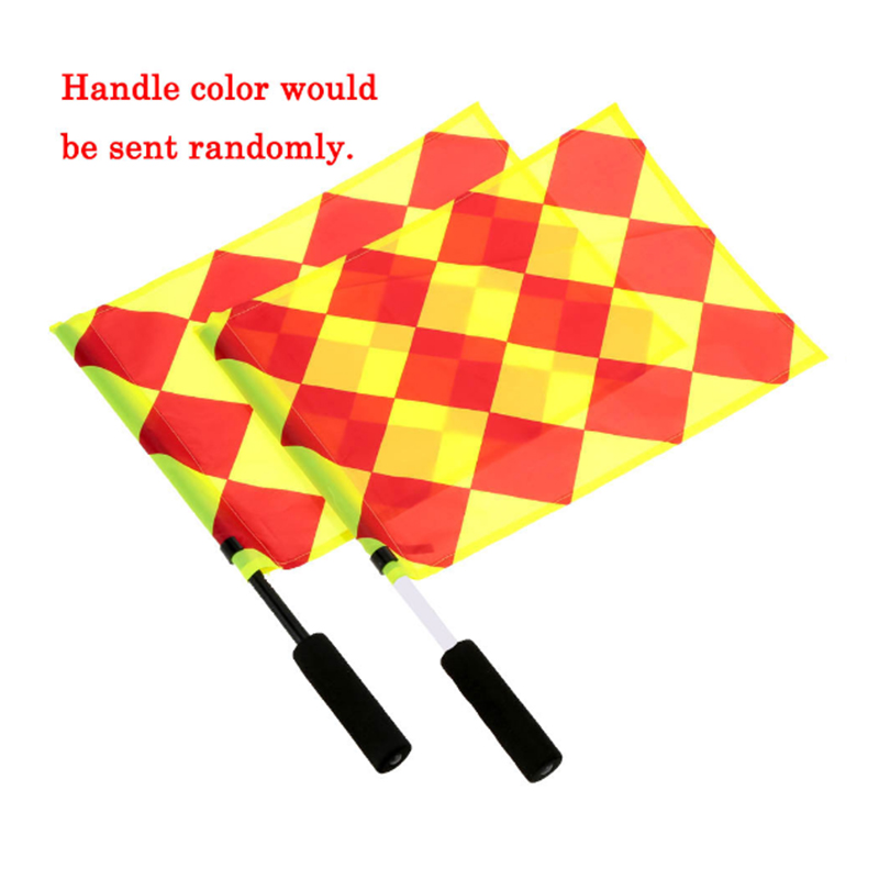 The World Cup Soccer Referee Flag Match Football Competition Equipment F415
